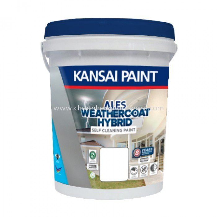 KANSAI PAINT ALES WEATHERCOAT HYBRID SELF CLEANING EXTERIOR PAINT INSPIRED COLOUR (STANDARD COLOUR)
