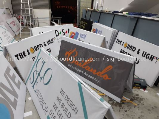 A- Board Stand -Banner Frame