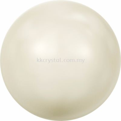 SW 5810 Crystal Round Pearl, 06mm, Crystal Ivory Pearl (001 708), 100pcs/pack