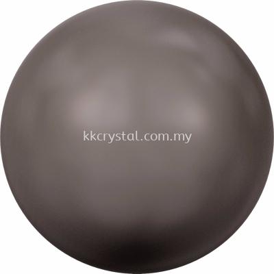 Swarovski 5810 Crystal Round Pearl, 06mm, Crystal Brown Pearl (001 815), 100pcs/pack