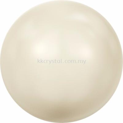 Swarovski 5810 Crystal Round Pearl, 06mm, Crystal Cream Pearl (001 620), 100pcs/pack
