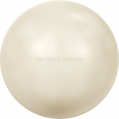 Swarovski 5810 Crystal Round Pearl, 10mm, Crystal Cream Pearl (001 620), 50pcs/pack