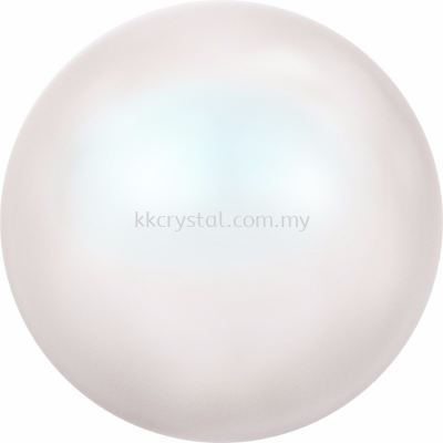 Swarovski 5810 Crystal Round Pearl, 12mm, Crystal Pearlescent White PR (001 969), 50pcs/pack