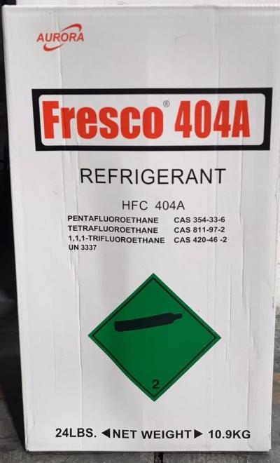 R404A X 24LBS (10.9KGS) HFC FRESCO 404A REFRIGERANT GAS
