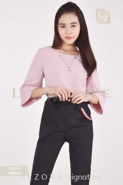 78331 BELL SLEEVE BLOUSE【1st 30% 2nd RM50 OFF】