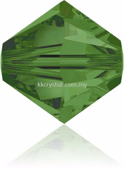 Swarovski 5328 XILION BEAD, 06MM, Fern Green (291), 10pcs/pack