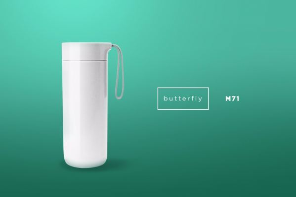 M71 BUTTERFLY - Thermal Suction Bottle (400ml)