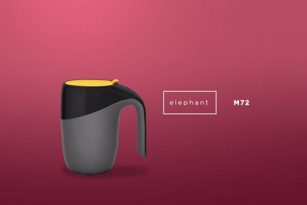 M72 ELEPHANT - Thermal Suction Mug (400ml)