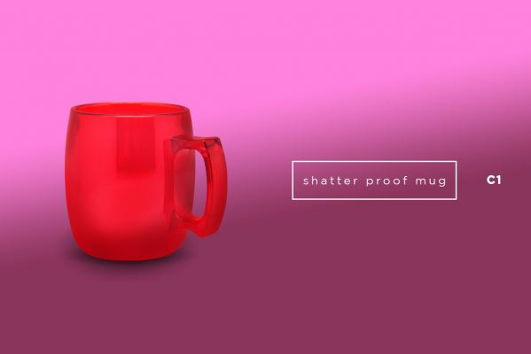 C1 Shatter Proof Mug (325ml)