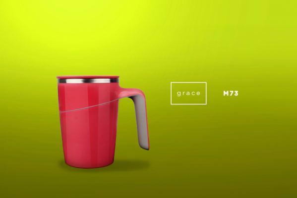 M73 GRACE - Suction Mug (470ml)
