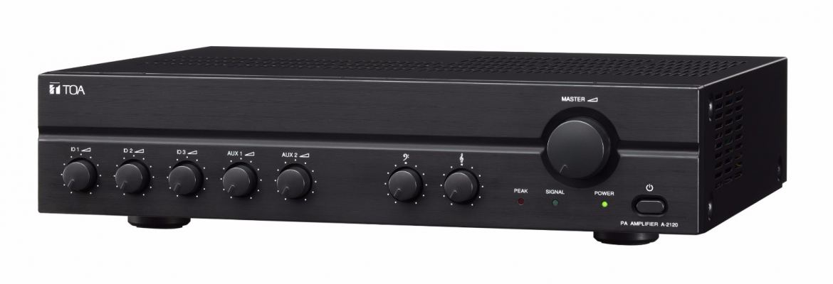 TOA MIXER POWER AMPLIFIER (A-2120 H VERSION)