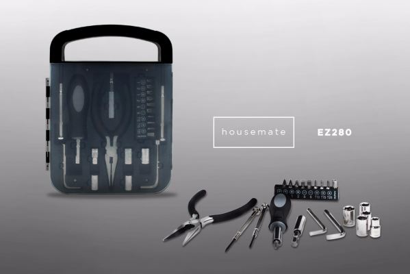 EZ280 Housemate 22pcs Tool Kit