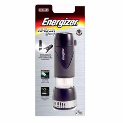 ENERGIZER HIGH TECH 2 IN 1 LED LIGHT, 2 LIGHT FUNCTION
