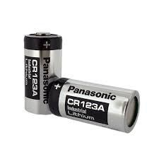 PANASONIC, 3 VOLTS LITHIUM BATTERY, SIZE CR123A