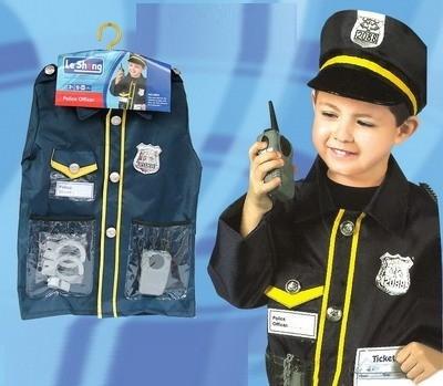 C2071 Police Costume wt Accessories