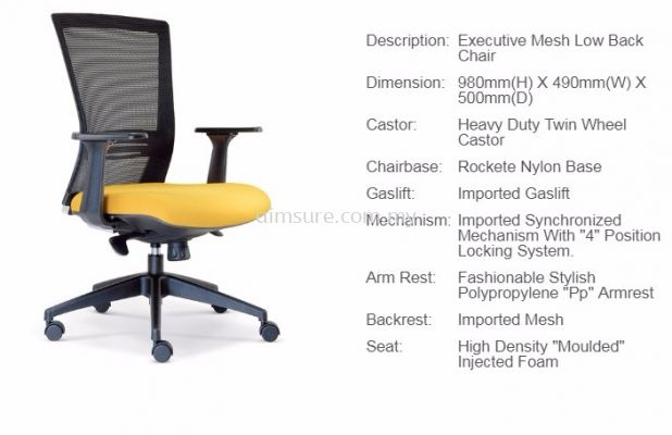 Talent low back chair AIM2656E