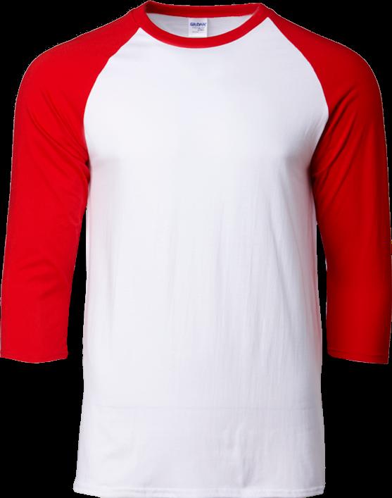 GILDAN PREMIUM COTTON 3/4 SLEEVE RAGLAN REGULAR FIT T-SHIRTS Supplier, Supply, Supplies, Services ~ Bit Pixel Uniforms Sdn Bhd