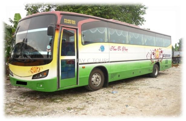 44 Seater Tour Coach