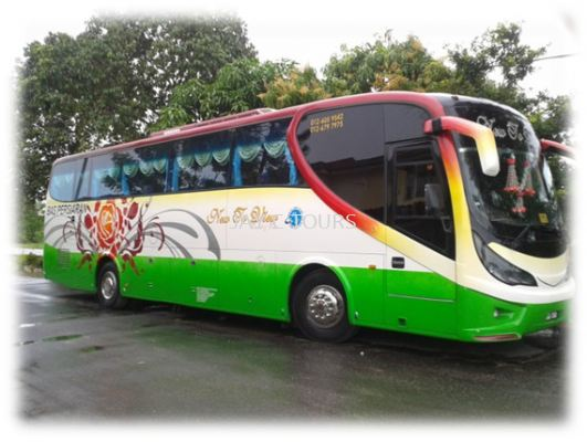 44 Seater Tour Coach