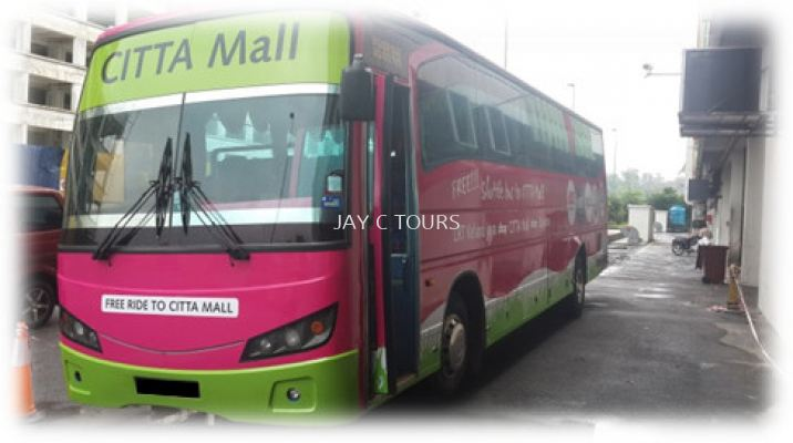 44 Seater Shuttle Coach