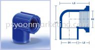 Faucet (P/T) Elbow ABS Pressure Fittings ABS Pressure