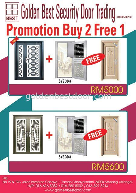 Promotion Buy 2 free 1