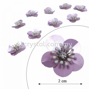Handmake Flower, Code: 62#, Color 1508#, 10pcs/pack
