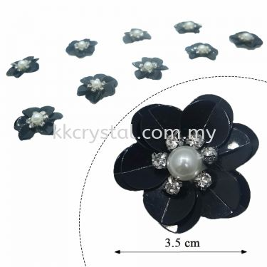 Handmake Flower, Code: 63#, Color 3#, 10pcs/pack