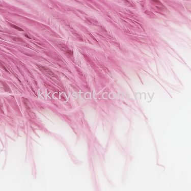 Ostrich Feather, Color 8#