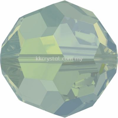 Swarovski 5000 Round Beads, 3mm, Pacific Opal (390), 10pcs/pack