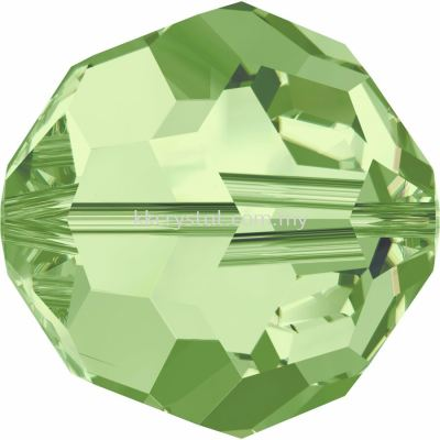 Swarovski 5000 Round Beads, 3mm, Peridot (214), 10pcs/pack