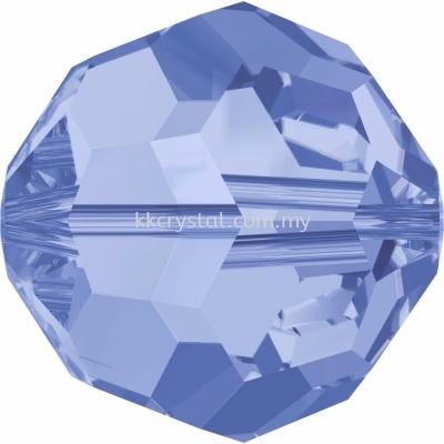 SW 5000 Round Beads, 3mm, Light Sapphire (211), 10pcs/pack
