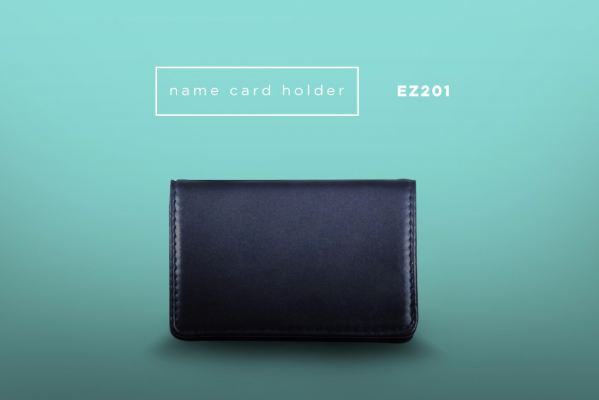 EZ201 PU Leather Name Card Holder