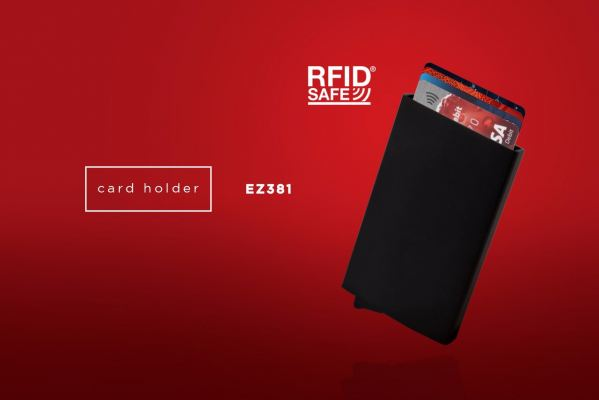 EZ381 RFID Blocking Card Holder