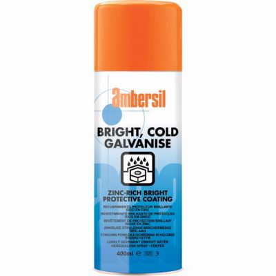 Ambersil Cold Galvaniising Spray Bright