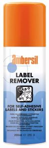 AMBERSIL LABEL REMOVER Cleaners & Lubricants Building and Household Maintenance Solution