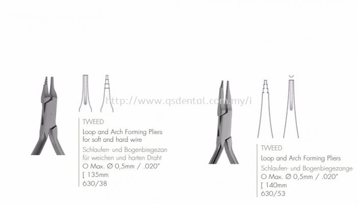 Loop and Arch Forming Pliers