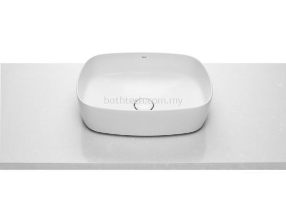 Roca Inspira Soft Fineceramic Countertop Basin 37 x 50cm (A327500000)