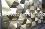Wall Decoration ( 3D WALL ) THAILAND SHOPPING MALL Decoration ( Stainless Steel, Mild Steel, Aluminium )