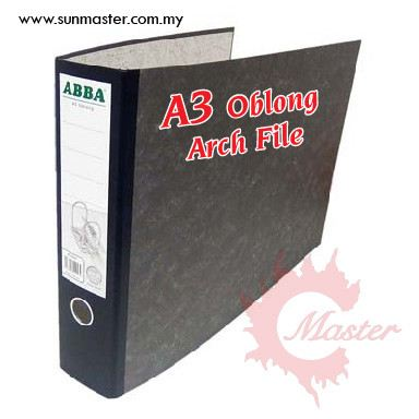 ABBA A3 Oblong Arch File