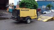 Used Kaeser 400cfm portable air compressor Used Kaeser Air Compressors for Sale