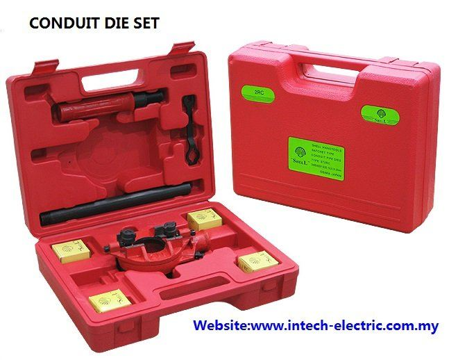 Conduit Die Set Cable Jack & Conduit Bender  Cable Support Systems