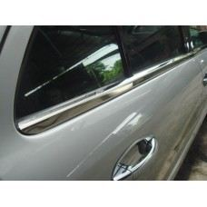 W210 Door Moulding Chrome S/Steel ( 4 pcs/set )