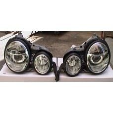 W210 99 Head Lamp Crystal Projector W/Vacuum