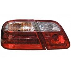 W210 Rear Lamp Crystal LED Clear/Red