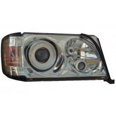 W124 93 Head Lamp Crystal Projector W/ Corner Lamp