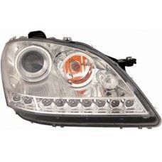 W164 06 Head Lamp Crystal Projector W/LED + Motor