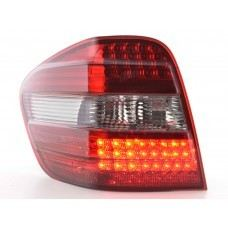 W164 Rear Lamp Crystal LED Red/Clear
