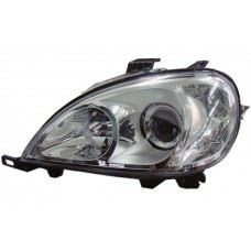 W163 Head Lamp Crystal Projector W/Motor
