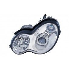 W203 Head Lamp Crystal Projector W/Vacuum